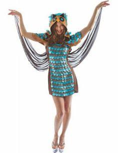 Charmant uilen kostuum