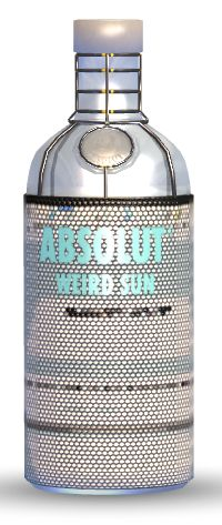 ABSOLUT PIN. Vote for this ABSOLUT bottle cover design and it could be featured alongside the artwork of some of SAs top artists!
