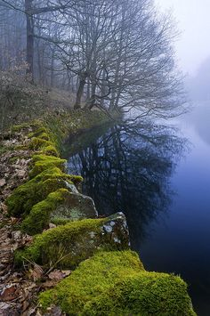Linacre Reservoir, Peak District, England (by William6201)