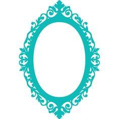 oval frame design. Silhouette Design Store - View #33402: Ornate Oval Frame Decoration Design