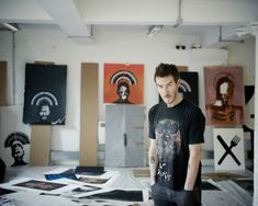 Massive Attack's Robert Del Naja is a very busy man. He talks about his art, a live show and getting back with Tricky.