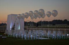 Decoracion de casamiento al aire libre de Ramiro Arzuaga
