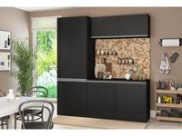 Cozinha Compacta Multimóveis Línea - 5225.130.130.130 6 Portas