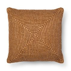 Natural Solid Throw Pillow - Threshold