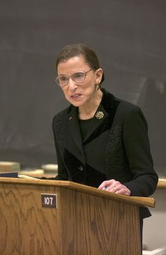 Although I rarely agree with her judicial philosophy or her votes on cases, Supreme court Justice Ruth Bader Ginsburg has a brilliant mind and I respect her patriotism. Ruth Bader Ginsburg Quotes, Justice Ruth Bader Ginsburg, Supreme Court Justices, Badass Women, Great Women, People Quotes, Powerful Women, Women Empowerment, Role Models
