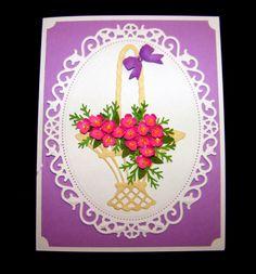Marianne Designs flower basket