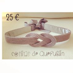 Cinturon nudo marinero gris 25 €. Envios a toda España 1 7cd661dac0aa