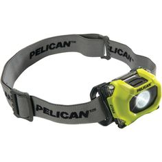 Pelican 72-lumen 2755 Safety Approved 3-mode Led Headlight (yellow)