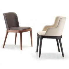 Cattelan Italia - Magda - Dining Chair - Side / Arm - Genuine Leather - IN STOCK - ON DISPLAY