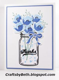 Crafts by Beth: Jar of Thanks