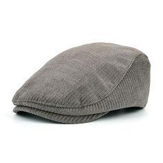 5185e4d394504 Fashion Men s Winter Cotton Beret Hat - Navy
