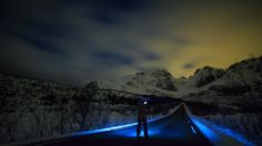 """A Dark And Lonely Road - Check out the <a href=""""http://youtu.be/cBJyo0tgLnw"""">SmugMug Films Profile on  surf photographer Chris Burkard</a>   """"Chris Burkard's love for night Photography and empty roads intersect in the dark Arctic Night""""  http://youtu.be/cBJyo0tgLnw  Have you seen the SmugMug Films Profile on Chris Burkard Photography yet? No? Well stop what you are doing and click on the link above. Trust me, it's worth it.   I took this shot of Chris doing what he does best late at night…"""