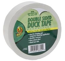 what could be better than Duct Tape??  Double Sided Duct Tape!! :)