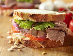 Weight Loss Central: Roast Beef Sandwich#weightlossrecipes #dietfoods