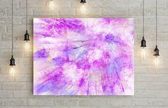 lila Kunstdruck  bis  90 x 120 cm  Kunst von DreamingArtDE auf Etsy
