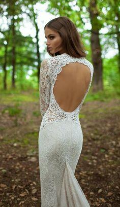 Gorgeous lace wedding gown- Berta Bridal