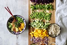 Deconstructed Sushi Bowl with Sweet Sesame Dressing