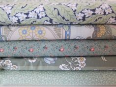 Fabric Bundle Quilter Set of FIVE 1/2 yard each by LBsSupplyCloset, $10.50
