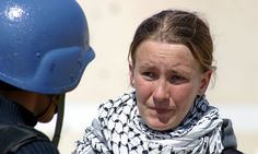 """""""Two years ago Rachel Corrie, a 23-year-old American protester, was killed by an Israeli bulldozer in Gaza. Since then she has become a potent symbol for both sides of the conflict. But who was the real Rachel?"""" Katharine Viner, who has edited her writings for a new play [along with Alan Rickman who also directed the first staging], on an ordinary woman with an extraordinary passion. article by Katharine Viner. April 8, 2005"""