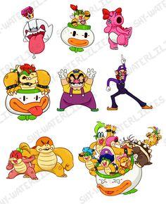 Super Mario And Luigi, Super Mario Games, Super Mario Art, Super Mario Brothers, Mario Bros, Mario Fan Art, Mario Memes, King Boo, Lego For Kids
