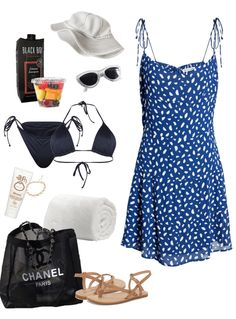 beach day Outfit | ShopLook Beach Day Outfits, Summer Outfits, Dr World, Riverdale Fashion, Witch Outfit, Outfit Maker, College Outfits, Types Of Fashion Styles, Outfit Of The Day