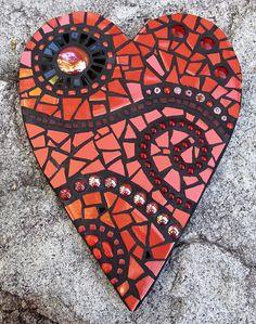 Mosaic Art, Mosaic Glass, Mosaic Projects, Mosaic Ideas, How To Make Decorations, Garden Ornaments, Garden Art, Art Nouveau, Kids Rugs