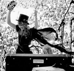 """""""Believe me, when I stop singing I'm gonna have a garage sale like you're not gonna believe. We're talking chiffon, chiffon, and more chiffon."""" -Stevie Nicks"""