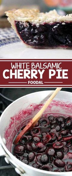 There�s no better way to use an abundance of just-harvested tart cherries than in a tasty pie. Our version uses white balsamic vinegar for acid and arrowroot powder to thicken. Because the filling is cooked first on the stove, it bakes quickly on those wa