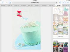 Kite cake Kite, 4th Birthday, 4th Anniversary
