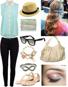 """""""Eleanor Calder and Louis Tomlinson Lunch Date"""" by tootieloo ❤ liked on Polyvore"""