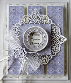 PartiCraft (Participate In Craft): Wednesday Weekly Card Giveaway - March 2016 Spellbinders Cards, Die Cut Cards, Marianne Design, Pretty Cards, Greeting Cards Handmade, Anniversary Cards, Homemade Cards, Sue Wilson, Making Ideas