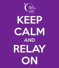 only 3 days away!  #RelayforLife2012