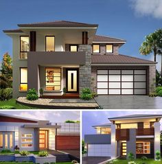 Kurmond Homes, New Home Builders Sydney. The design & building of your home is our passion, we strive for excellence with every home to maintain our quality home builders reputation. Simple House Design, Dream Home Design, Modern House Design, Style At Home, Residential Building Design, Beautiful Home Designs, Storey Homes, Dream House Exterior, Modern Architecture House