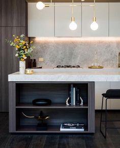 Luxe kitchen.