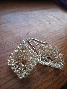 54 Beste Afbeeldingen Van Haken Met Zilverdraad Crochet Earrings