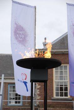 Vredesvuur in Breda op 5 mei