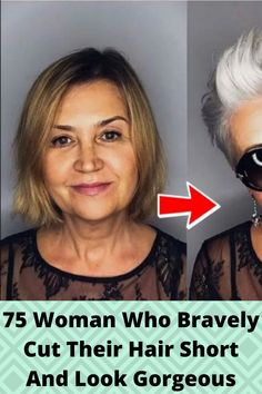 75 #Woman Who #Bravely Cut Their Hair Short And Look #Gorgeous