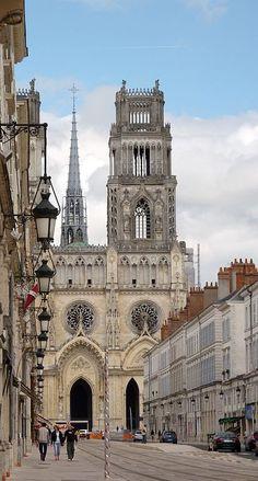 "breathtakingdestinations: "" Orléans Cathedral - Orléans - France (by Ronny Siegel) """