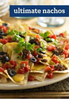 Ultimate Nachos – We thought about calling these the Easiest Nachos, but due to the awesome combination of spicy and creamy deliciousness, we went with Ultimate Nachos.