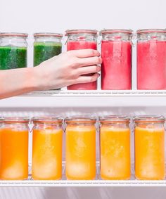 Best Healthy Smoothie Tips, Recipes, Hacks | We are sharing some life-changing tips and tricks that will help us all get into the habit of making smoothies at home. #refinery29 http://www.refinery29.com/smoothie-hacks