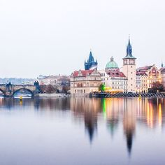 Prague is one of our favorite Christmas destinations. Photo courtesy of nodestinations on Instagram.