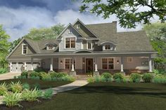 This 2 story  features 2,414 sq feet. Call us at 866-214-2242 to talk to a House Plan Specialist about your future dream home!