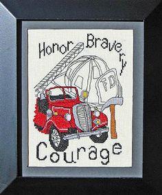Firefighters - Cross Stitch Pattern