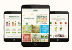 Cawston Press Responsive Website design