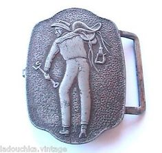 Levi Strauss Made in USA | Levi'S Strauss 1950s MEN Belt Buckle Cowboy Western Made IN THE USA ...