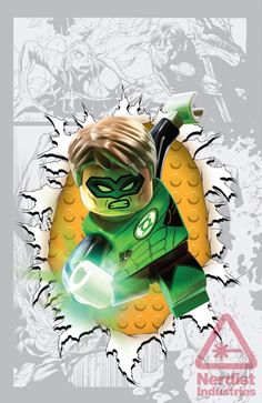 Exclusive: DC Comics Goes LEGO with THE FLASH, GREEN LANTERN, and More « Nerdist
