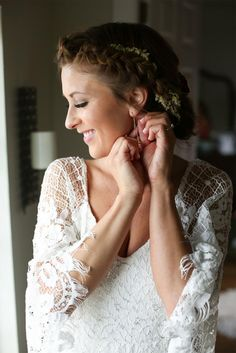 Sara in the VERDELLE   Grace Loves Lace