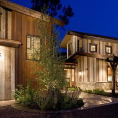 Reclaimed Wood Siding Design, Pictures, Remodel, Decor and Ideas - page 4