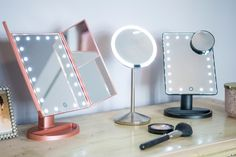 The Best Makeup Mirror with Lights of 2019 - We tested the top-rated lighted mirrors to find the only ones worth buying. Mirrors For Makeup, Makeup Vanities, Makeup Vanity Mirror, Cool Mirrors, Makeup Mirror With Lights, Led Mirror, Oval Mirror, Make Up Mirror, Lighted Mirror