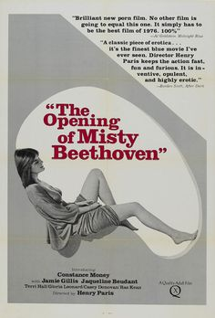THE OPENING OF MISTY BEETHOVEN (1976). Adrian Curry looks back at the work of Radley Metzger, the erstwhile king of high-class erotica, and the poster artwork that elevated and outlived his cinema... Read the full article here: https://mubi.com/notebook/posts/movie-poster-of-the-week-the-films-of-radley-metzger